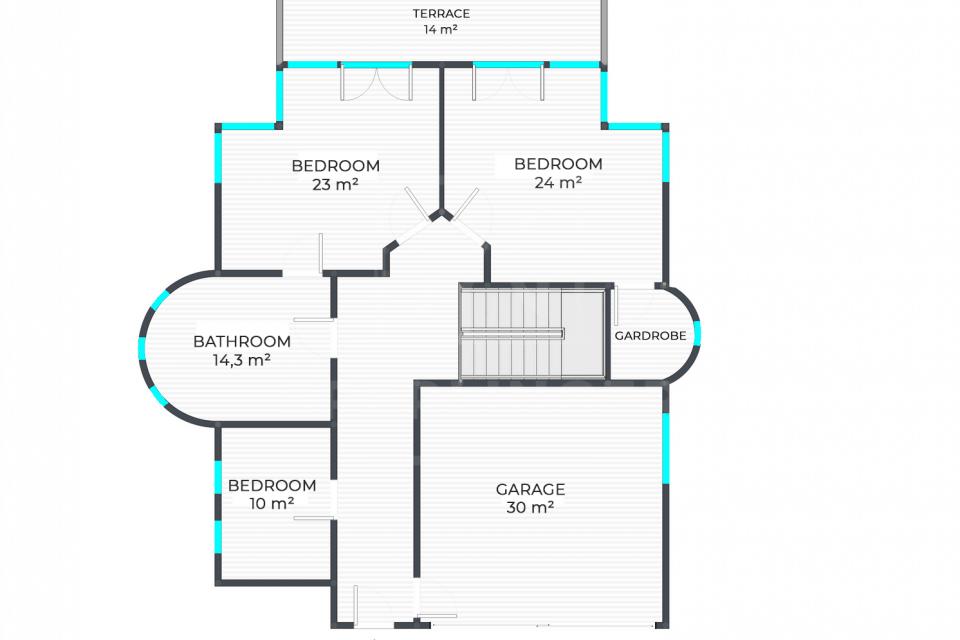 Családi ház őrzött lakóparkban 17