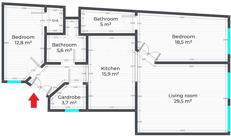 Luxus lakás a Palotnegyedben 10