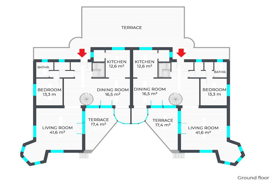 Panorámás családi ház Szentendrén 25